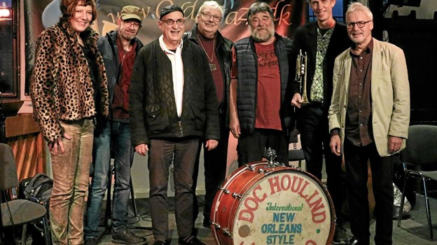 Doc Houlinds New Orleans Style Jazz Band. Foto: Michael Madsen