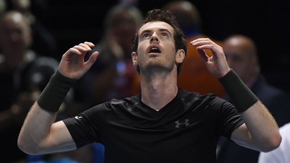 Great Britain's Andy Murray celebrates winning the final against Serbia's Novak Djokovic Foto: Reuters/Toby Melville