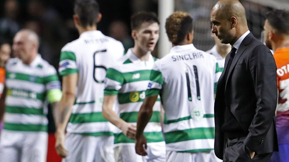 Celtic v Manchester City - UEFA Champions League Group Stage - Group C Foto: Reuters/Lee Smith