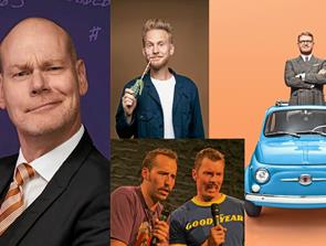 5 x Stand-up i Thisted Musikteater